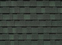 Forest Green Roofing Shingles