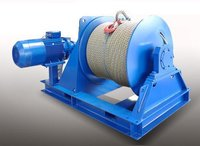 Electric Winch And Rope Drum