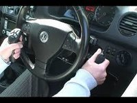 Garsing On Steering Wheel For Handicapped
