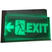 Exit Indicator Led Type With 3 Hour Battery Back Up
