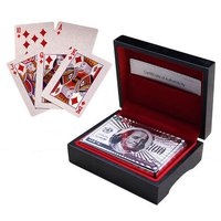 Silver Plated Playing Cards