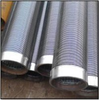 Stainless Steel 304 Well Screen Wedge Wire Sand Control Deep Well Filter Pipe