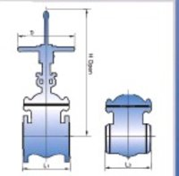 Cast Stainless Steel Gate Valves