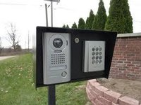 Gate Entry Security System