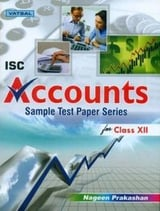 ISC Accounts Sample Test Papers - Class XII