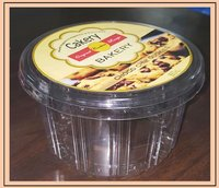 Plastic Cookie Packaging Container