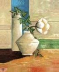 Still Life Flower Pot Poster