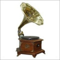 Antique Working Gramophone Shiny