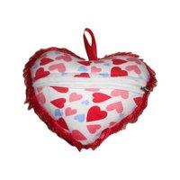 Cloured Heart Pillow