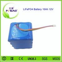 lifepo4 battery cell battery pack 12v 10ah