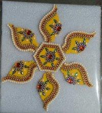 Attractive And Decorative Acrylic Rangoli