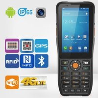 Android 4g Barcode Scanning Pda With Gps Camera Wi-Fi Bluetooth