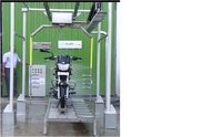 Two Wheeler Auto Wash System