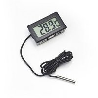 Digital Mini Lcd Thermometer With Probe For Fridge