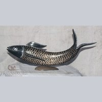 Horn Carving Fish
