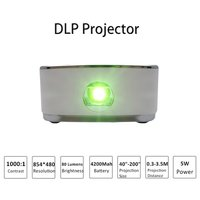 Dlp Mini Led Portable Projector