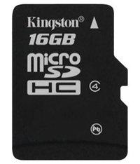 Kingston Micro Sd Card 16gb Cl 4