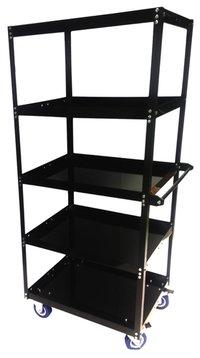 5 Shelf Movable Metal Rack