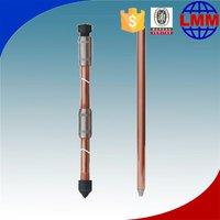 Copper Bond Wire Hammer Lock For Grounding Rod