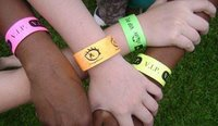 Paper Based Non Transferable And Water Proof Wristbands