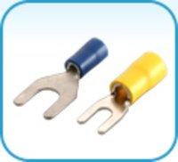 Fork Type Terminal Ends With Metal Reinforcement