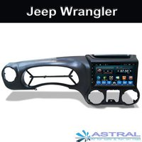 In Dash Radio Car Audio Palyer Jeep Wrangler 2011 2016