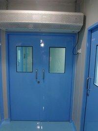 Modular Lab Entrance Door With Air Curtain