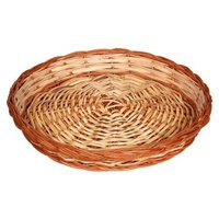 Handicraft Round Shape Wooden Basket