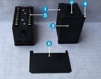 Din Panel Enclosure 48x96x65 mm (E3 Series)