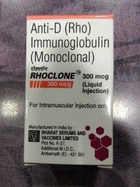 Rhoclone Anti-D(Rho) Immunoglobulin Injection