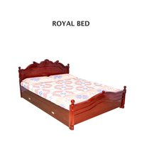 Wooden Royal Bed