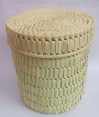 Palm Leaf Laundry Box