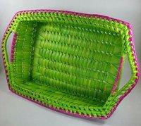 Palm Leaf Rectangle Tray