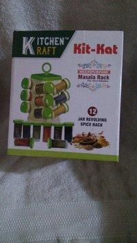 Kitchen Raft Spice Rack 12 Pcs