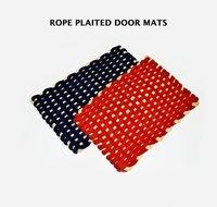 Rope Plaited Square Door Mats