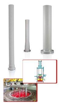 Silicon-Nitride Riser Tube For Aluminium Industry