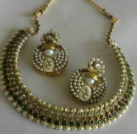 Traditional Designer Necklace With Earrings