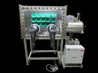 S S Glove Boxes With Optional Gas Purification System