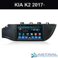 Factory Android 6.0 Car Stereo Bluetooth Head Unit Kia K2 2017