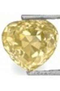 Heart Brilliant Cut Beautiful Golden Yellow Diamond