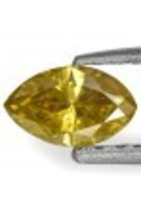 Marquise Brilliant-Cut Golden Yellow Beautiful Diamond