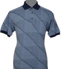Men's Collar Jacquard T-Shirts