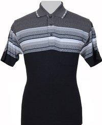 Men's Short Sleeve Jacquard T-Shirts
