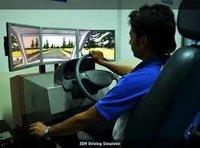 Manual Car simulator