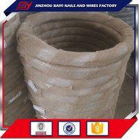 Q195 Electro-Galvanized Iron Wire With 0.5 To 4mm Diameter