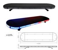 Full Aluminum Profile Ultrathin Police Car Emergency LED Warning Light Bar HS-4143