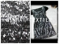 Sequin Embroidery Fabric For Garment