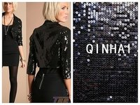 Sequin Embroidery Suit Fabric