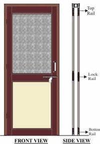 Pvc Double Doorframe