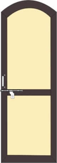 Rounded Eps Panel Pvc Doors